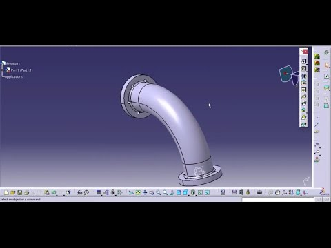 Best Elbow pipe design | catia v5