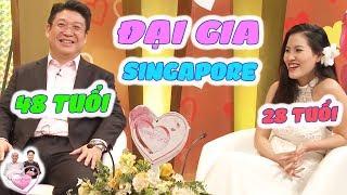 ĐẠI GIA SINGAPORE TÁN MẸ ❤️ ĐỔ CẢ MẸ LẪN CON VÀ CÂU CHUYỆN ĐẪM NƯỚC MẮT | Vợ Chồng Son