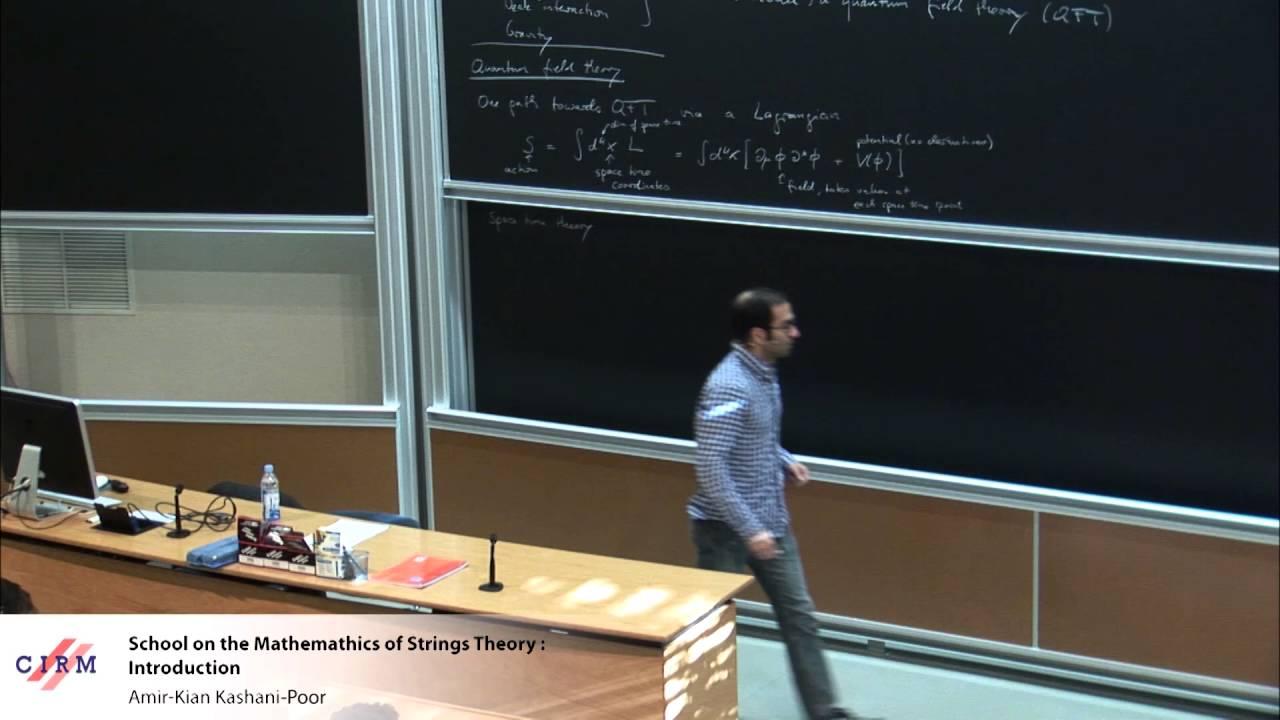Amir Kian Kashani Poor School On The Mathematics Of Strings Theory Introduction