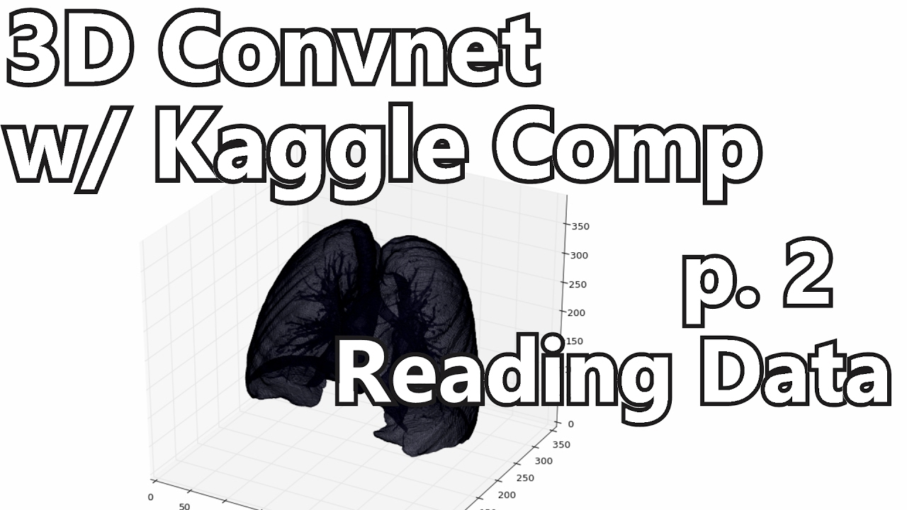 Reading Files - 3D Convolutional Neural Network w/ Kaggle and 3D medical  imaging p 2
