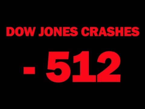 Dow Jones Crashes 512 Points -- Stock Market Tanks As Double Dip Recession Fears Spread -- Report