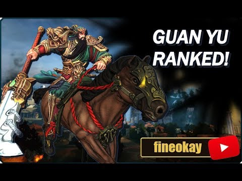 [SSG] fineokay - Guan Yu (Actually GOOD Ranked GAME?!)