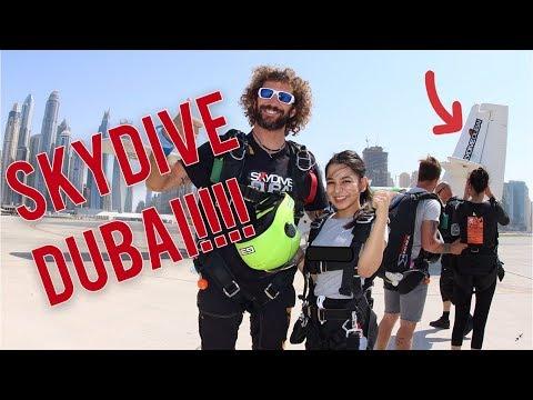 SKYDIVE DUBAI | SKYDIVING | PALM ISLAND | BURJ KHALIFA | PALM JUMERIAH