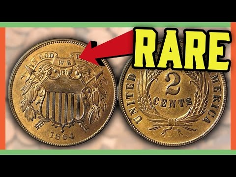 RARE 2 CENT COINS WORTH MONEY - TWO CENT PENNIES TO LOOK FOR!!