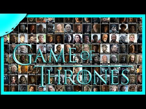 Ultimate Guide to Every Game of Thrones Character