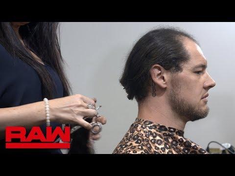 Baron Corbin cuts his hair: Raw Exclusive, June 11, 2018