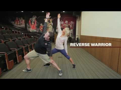 Yoga Moves for Football Players