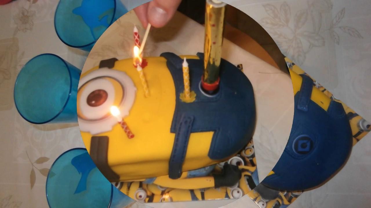 Minion Celebration Cake Tesco Store Price 14 68 Eur Youtube