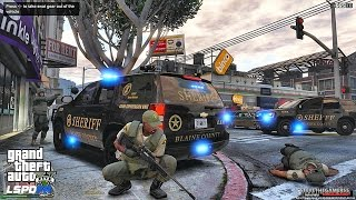 GTA 5 LSPDFR #131 -SHERIFF SWAT PATROL (GTA 5 REAL LIFE PC MODS)