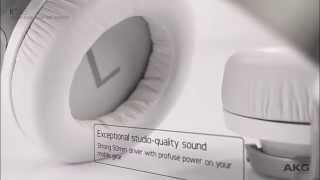 Sluchátka AKG 545 - kvalita zvuku a pohodlí