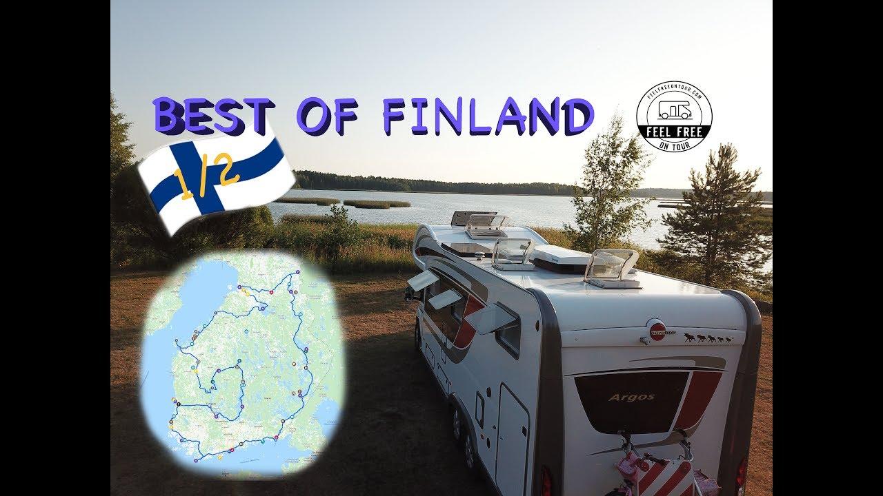 Mit dem Wohnmobil durch Finnland I Rundreise-Zusammenfassung Teil 1von2