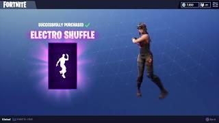 Fortnite   Battle Royale - Electro Shuffle Emote (Epic/800v)
