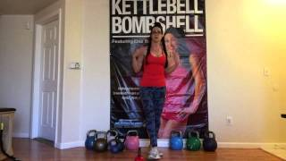 Kettlebell Bombshell Cardio Workout Part 2
