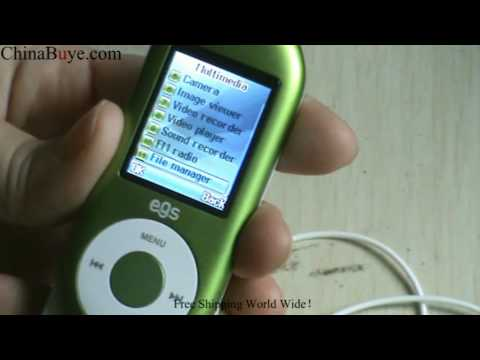 EGS F210 Quad Band Mini Cool Phone Green