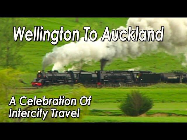 Last Spike Rail Festival - Main Trunk Line In New Zealand