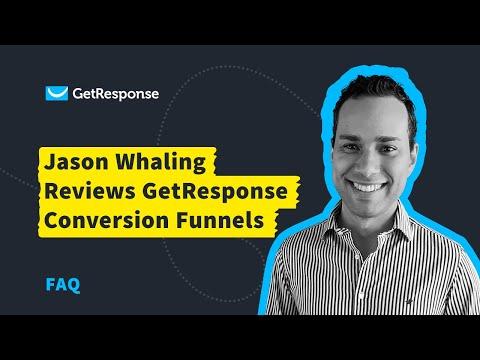 Jason Whaling Reviews GetResponse Autofunnel