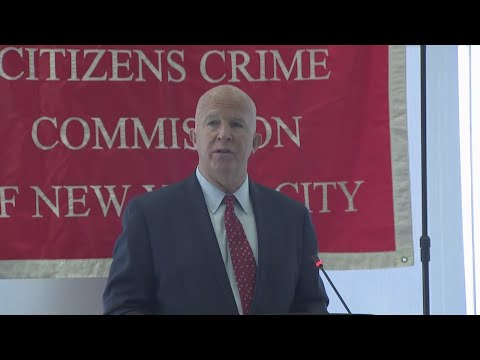 Full Video: NYPD Commissioner O'Neill Speaks At Criminal Justice Forum
