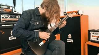 Jim Root Orange Rockerverb 100 MKIII Guitar Amp
