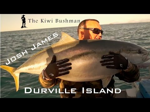 Yellowtail Winter Fishing in New Zealand with Josh James  - 2016 part 1