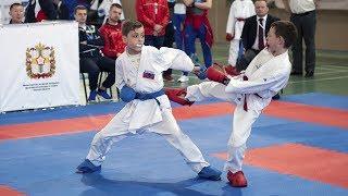 Первенство России по каратэ среди юношей и девушек