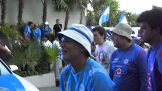 La sangre azul en el hotel de cancun antes de partir al estadio final copa ¡¡