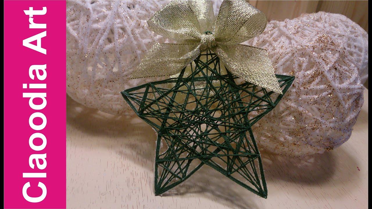 Gwiazdka zawieszka ze sznurka string ornaments star youtube solutioingenieria Images