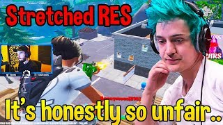 Ninja Finally Speaks His Mind About *STRETCHED RES* Being BROKEN! - Fortnite Moments