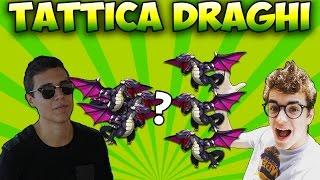 CLASH OF CLANS : Come attaccare con i DRAGHI? w/Jakidale