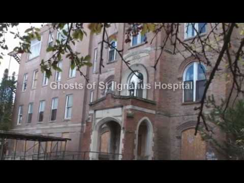 Ghosts of St. Ignatius Hospital walk through with a Psychic