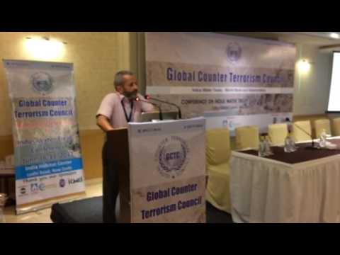 Indus Treaty ...Ritesh Arya at Global Counter Terrorism Council, Delhi 2017 June 16-17