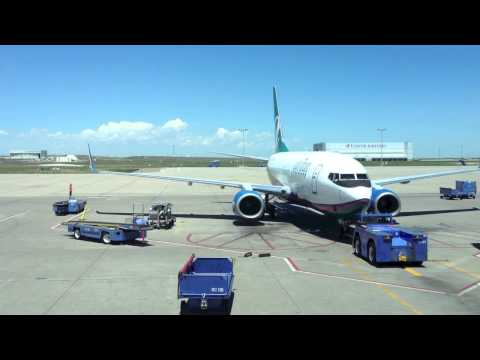 Airtran Boeing 737-700 Loading And Pushback From Denver