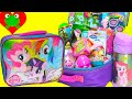 My Little Pony Lunch Box Surprises with MLP, Shopkins, Barbie Surprises