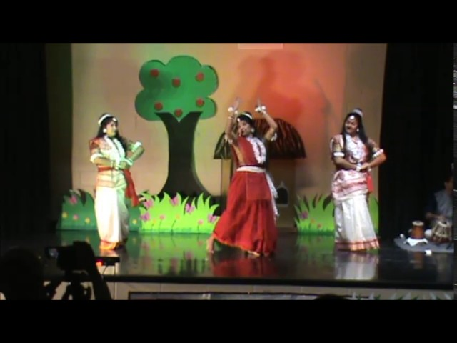 "Dance Drama ""Shakuntala"" performed by Purbasha Members in Saraswati Puja-2017"