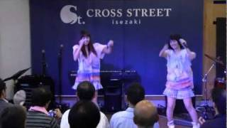 CROSS STREETアイドルライブ第2弾 モデルの2人が今年8月にC...