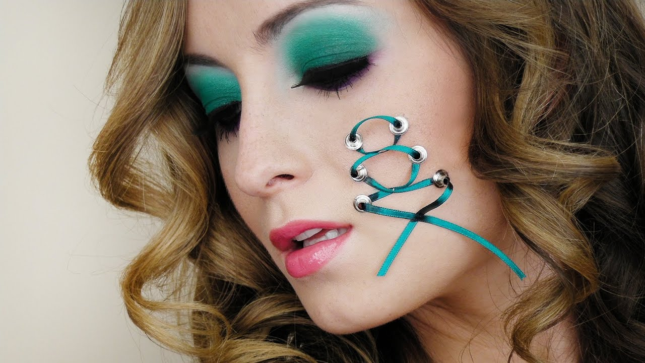 Laced Up Beauty: Halloween Makeup Look - YouTube