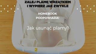 Jak usunąć plamy? #homebookpodpowiada