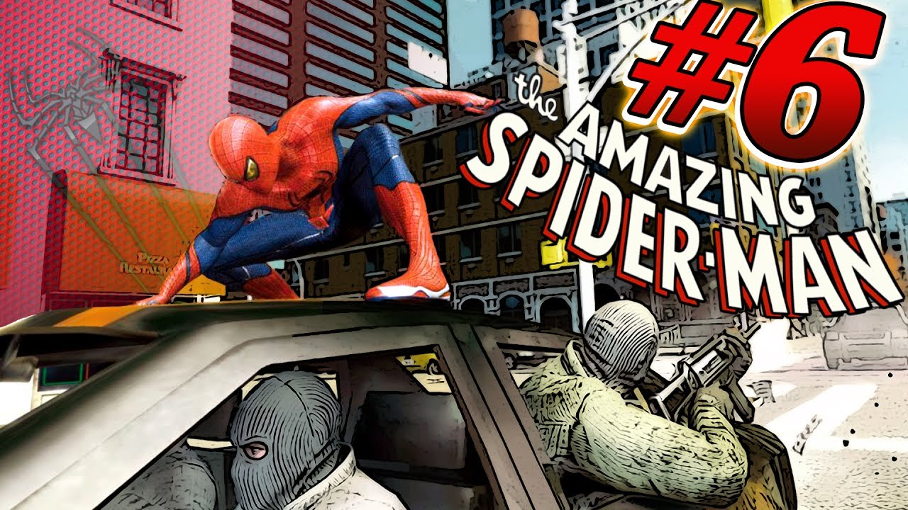 Обзор на игрушки новый человек паук 2 : amazing spider man - YouTube