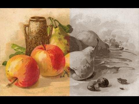 Paint.net. Урок 2 - Как сделать рисунок или фото чёрно-белым