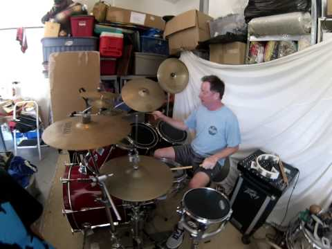 Bill Travers Drums with GoPro