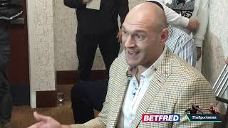 Tyson Fury opens up about his depression with incredible speech | The Sportsman Boxing