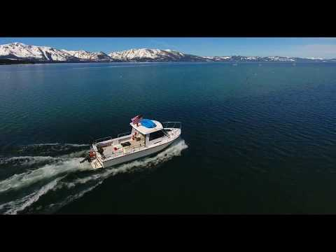 Drone Professional 4K movie shooting South Lake Tahoe relax music by Zabugorsky Studio