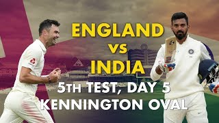 England vs India 5th Test, Day 5: Match Story