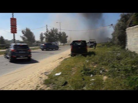 Blast targets Palestinian PM's convoy during rare Gaza visit