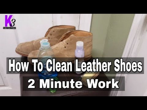 How To Clean Pure Leather Shoes