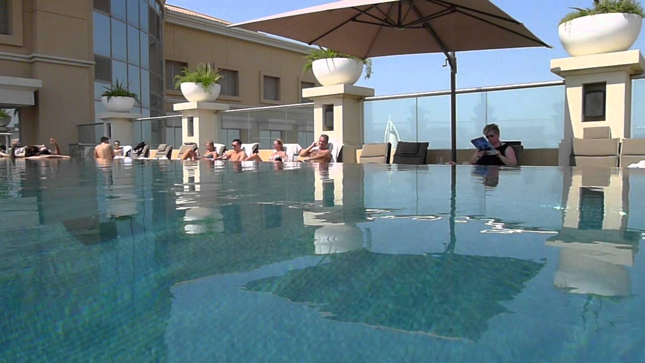 Pullman Dubai Mall Of The Emirates Roof Pool Dubai Youtube