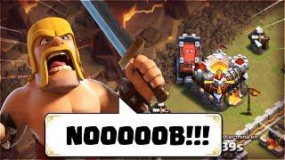¡PERO QUÉ VEN MIS OJOS! - Los ATAQUES MÁS NOOB en Mucho Tiempo #4 - Bugs y Fails Clash of Clans