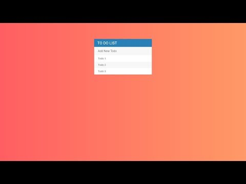 Simple To Do List Using Html || Css || JavaScript || jQuery thumbnail