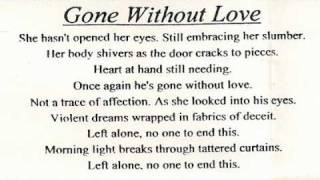 Night Of Broken Glass - Gone Without Love