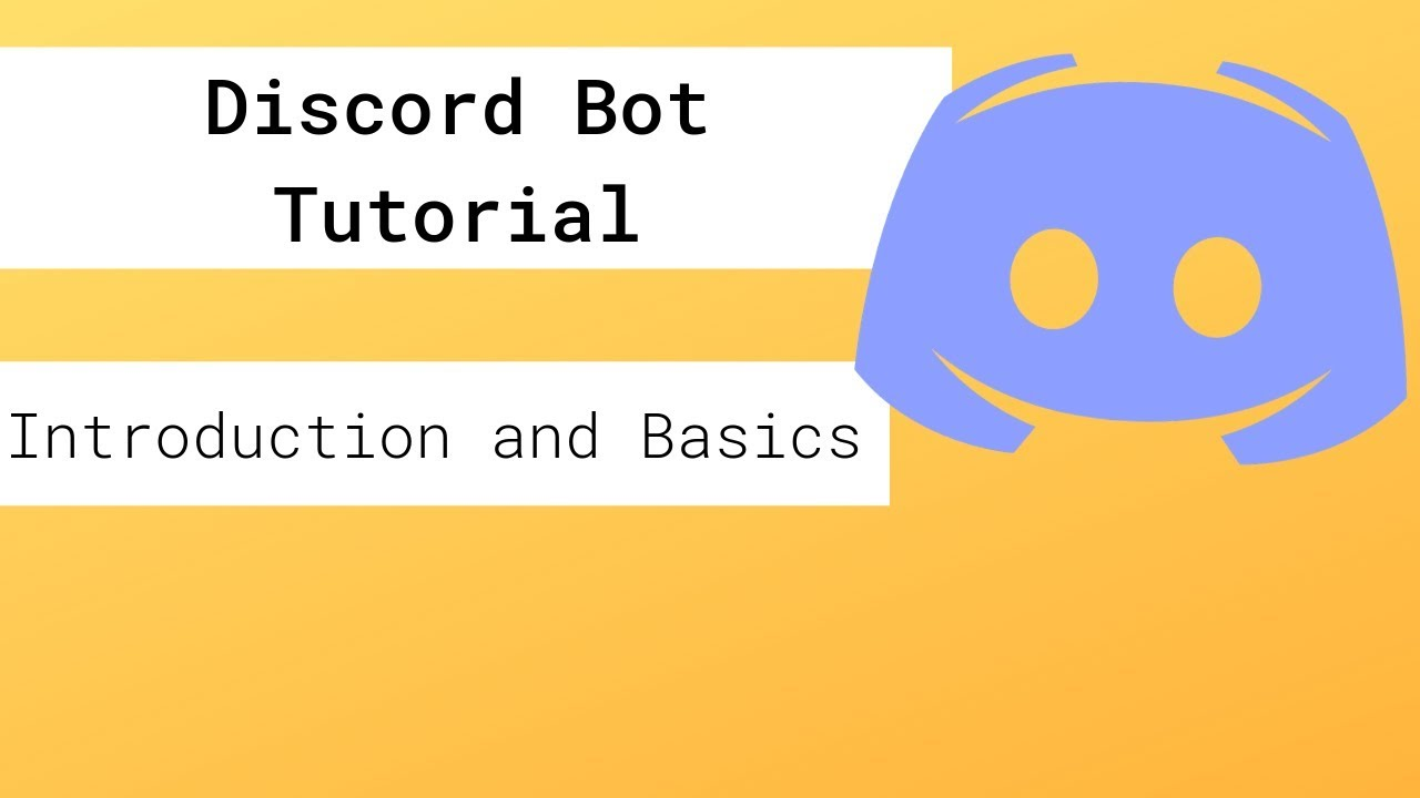 Discord Bot Tutorial