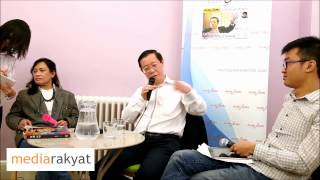 Lim Guan Eng: How Are We Going To Win GE14?